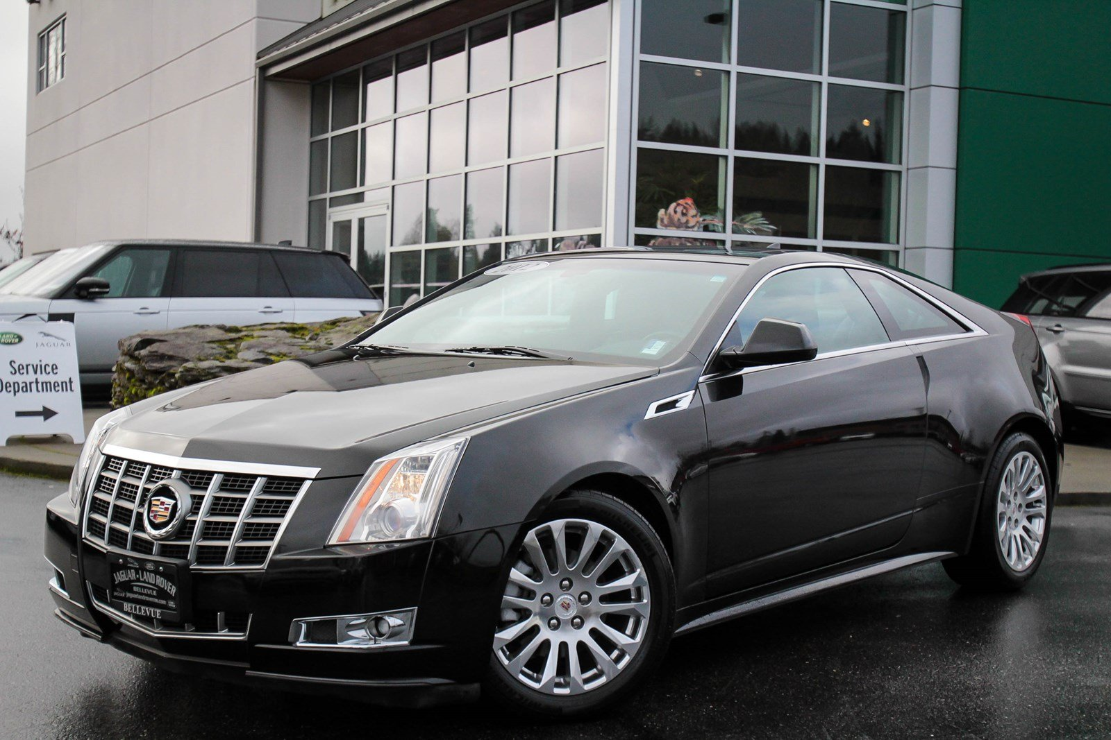 Pre-Owned 2012 Cadillac CTS Coupe Premium