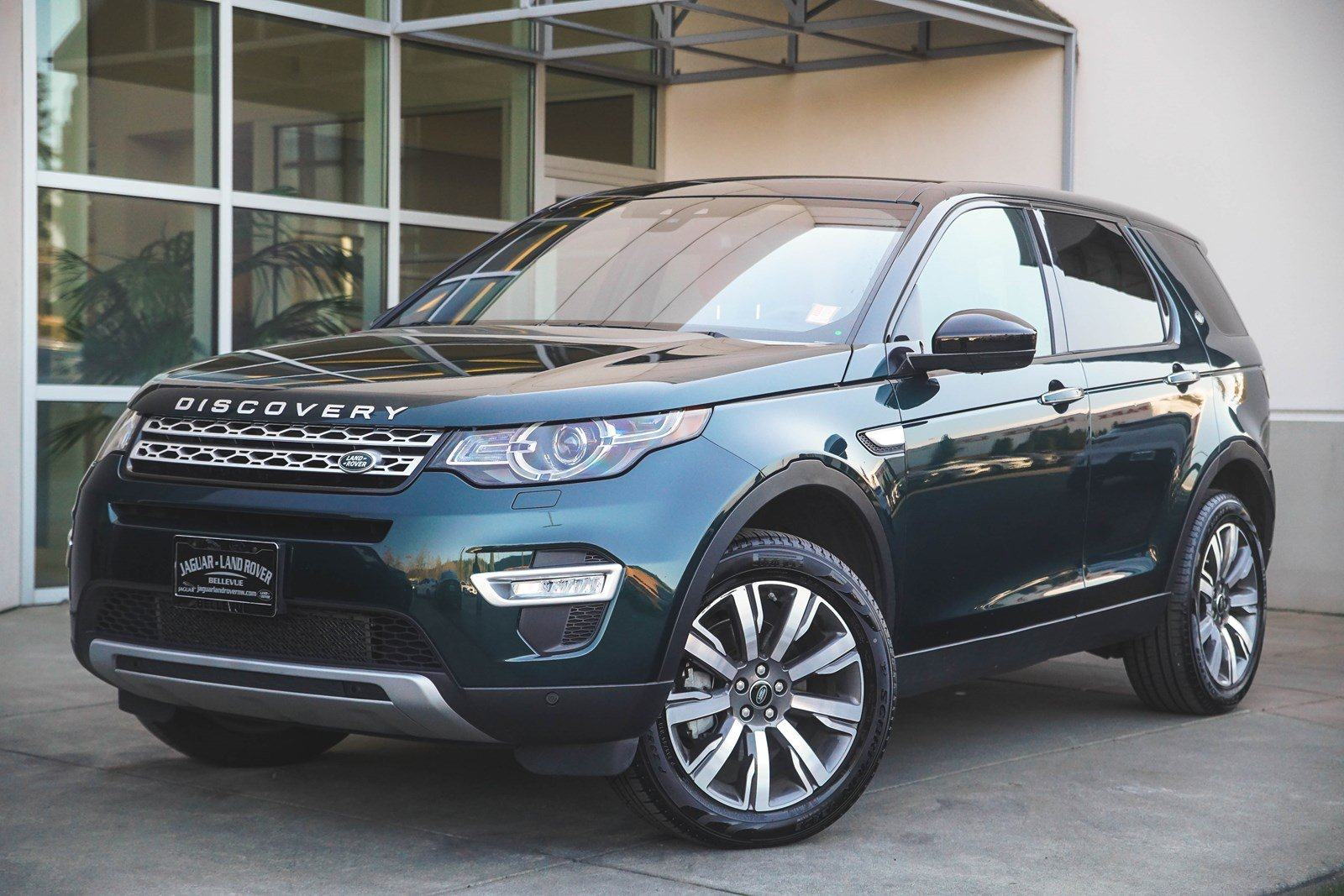 Certified Pre Owned 2017 Land Rover Discovery Sport Hse Luxury