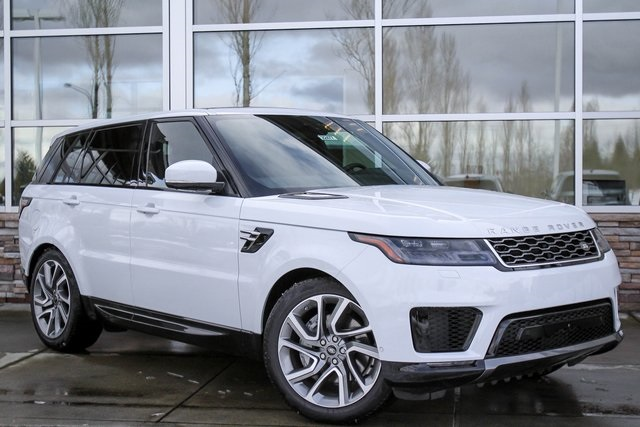 New 2018 Land Rover Range Rover Sport HSE