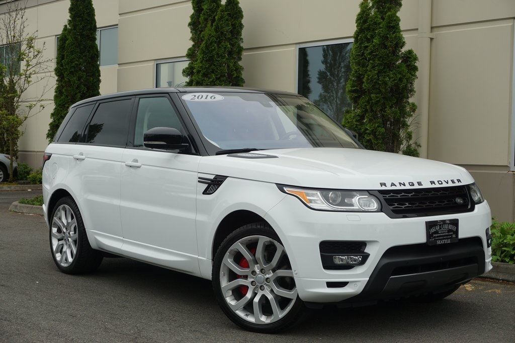 Range Rover Seattle >> Pre Owned 2016 Land Rover Range Rover Sport 5 0l V8 Supercharged Autobiography 4wd