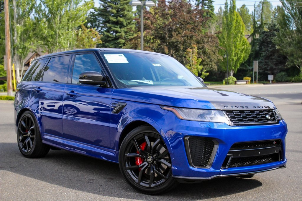 Land Rover Sport >> New 2020 Land Rover Range Rover Sport Svr With Navigation 4wd