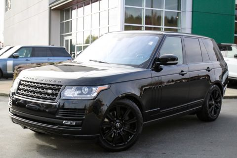 Certified Pre-Owned 2017 Land Rover Range Rover 4DR SUV V8 SC SWB