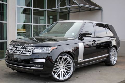 Pre-Owned 2015 Land Rover Range Rover Supercharged LWB