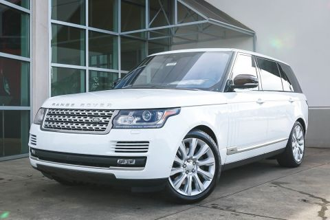New 2017 Land Rover Range Rover Supercharged LWB