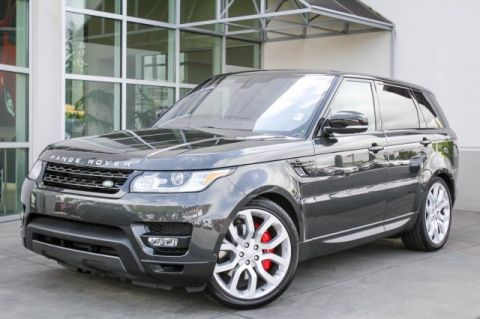Certified Pre-Owned 2016 Land Rover Range Rover Sport V8 Dynamic