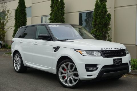 Pre-Owned 2016 Land Rover Range Rover Sport 5.0L V8 Supercharged Autobiography